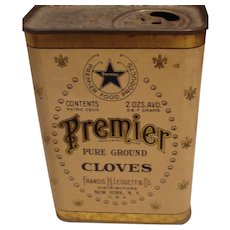 Premier Ground Cloves Tin