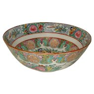 Rose Medallion Bowl