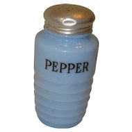 Jeanette Glass Delphite Pepper Shaker