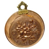 Copper Mold with Flowers
