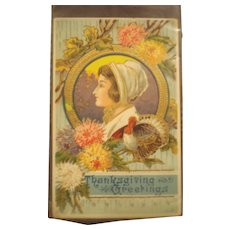 Thanksgiving Post Card Germany - Red Tag Sale Item