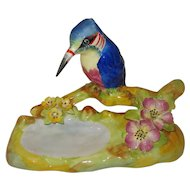Cara-China Staffordshire Porcelain King Fisher Figurine