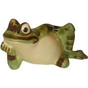 McCoy Pottery Reclining Frog