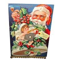 """Christmas Postcard with Santa """"Sweetheart Series"""""""