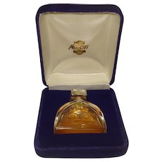 Vintage Felton Perfume Bottle Original Velvet Box