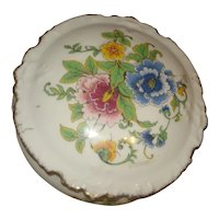 Limoges Porcelain Powder Box / Trinket Box