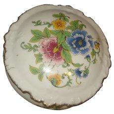 Limoges Porcelain Powder Box / Trinket Box