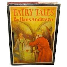 """Children's Book """"Fairy Tales"""" by Hans Andersen 1932"""