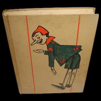 The Adventures of Pinocchio Third Printing 1929