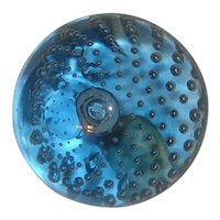Whitefriars Glass Paperweight Controlled Bubble