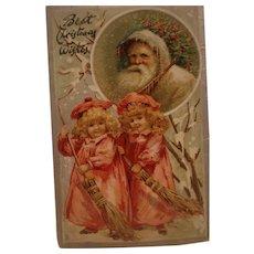 Raphael Tuck Christmas Postcard