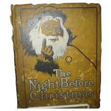 """Early  Book """"The Night Before Christmas"""""""