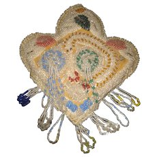Native American Beaded Whimsey Pincushion