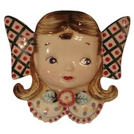 Vintage Girl Wall Pocket Artmark