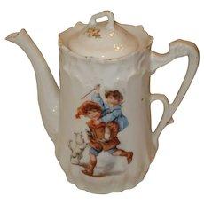 Small Porcelain Child's Teapot