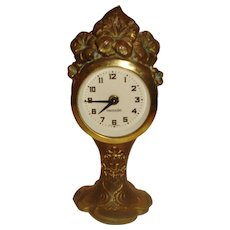 Art Nouveau Benedict Clock
