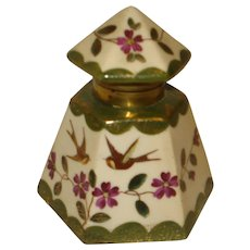 Early Porcelain Inkwell