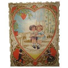 Victorian Valentine's Card Whitney Made