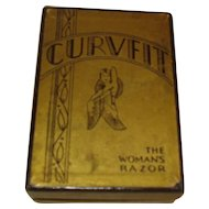 Curvfit Woman's Razor Original Box