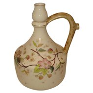 Royal Worcester Rudolstadt Hand Decorated Decanter