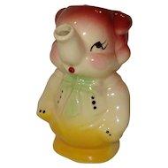 Shawnee Pottery Elephant Creamer