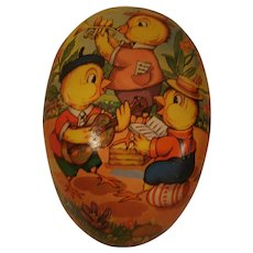 Huge Paper Mache Easter Egg