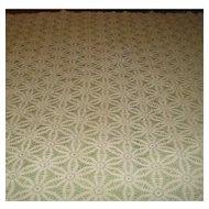 Vintage Crochet Table Cloth