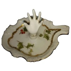 Limoges Porcelain Ring/ Trinket Tray