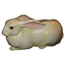 Vintage Lefton White Easter Bunny