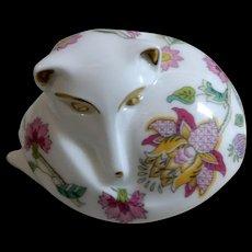 Minton Porcelain Dog/Fox Figurine Haddon Hall
