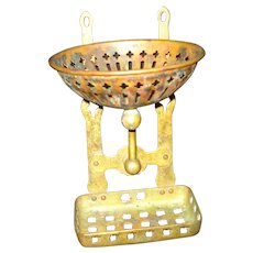 Antique Copper / Brass Soap /Sponge Holder