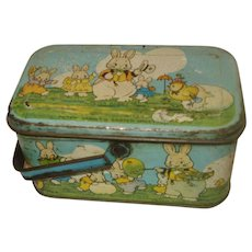 Early Tindeco Peter Rabbit Candy Tin