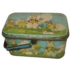 Early Tindeco Peter Rabbit Candy Tin