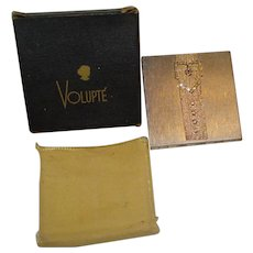 Volupte Buckle Compact with Original Box