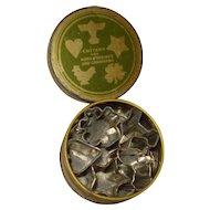 Vintage Cookie Cutters in Original Tin Wonder Shredders