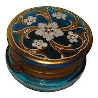 Delightful Victorian Glass Dresser Box
