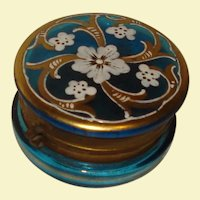 Delightful Victorian Glass Dresser Box