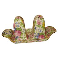 Royal Winton Chintz Summertime Porcelain Salt Pepper with Tray