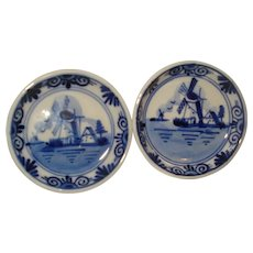 Delft Blue Holland Butter Pats (2)