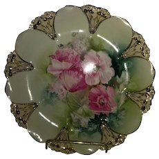R S Prussia Porcelain plate