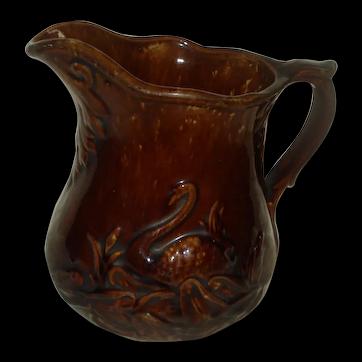 Bennington Pottery Swan Pitcher