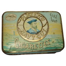 Player's Navy Cut Cigarette Tin