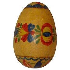 Decorated Wood Darner Wood Darning Egg