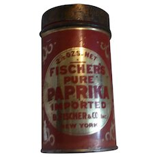 Fischer's Pure Paprika Tin