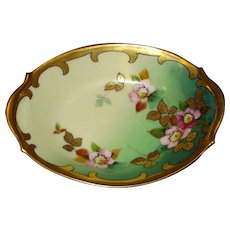 Beautiful Pickard China Limoges Oval Dish