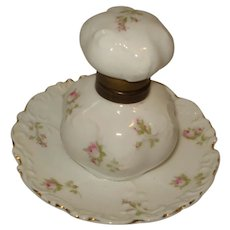 German Porcelain Inkwell