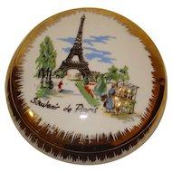 Limoges Trinket Box Eiffel Tower Paris Souvenir