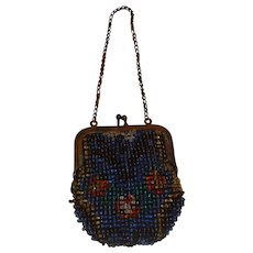 Small Beaded Purse for Doll Germany