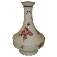 Limoges Porcelain Chantilly Decanter
