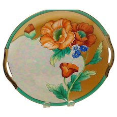 Noritake Poppy Cake Plate